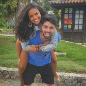 Aline Dias, de 25 anos, conta reação do namorado ao saber da gravidez: 'Choque'