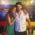Grávida aos 25 anos, Aline Dias  namora o ator Rafael Cupello