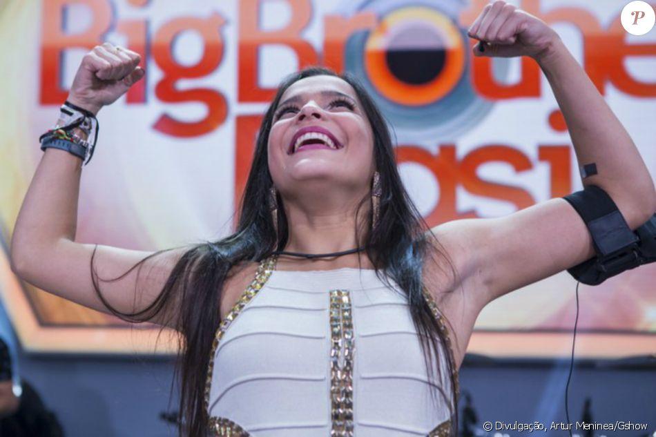 Emilly Araújo vende o 'BBB17' com 58% dos votos na final definida nesta quinta-feira, 13 de abril de 2017