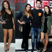 Ex-BBB Emilly curtiu festa com filhas de Fátima e Bonner sem saber: 'As adorou'
