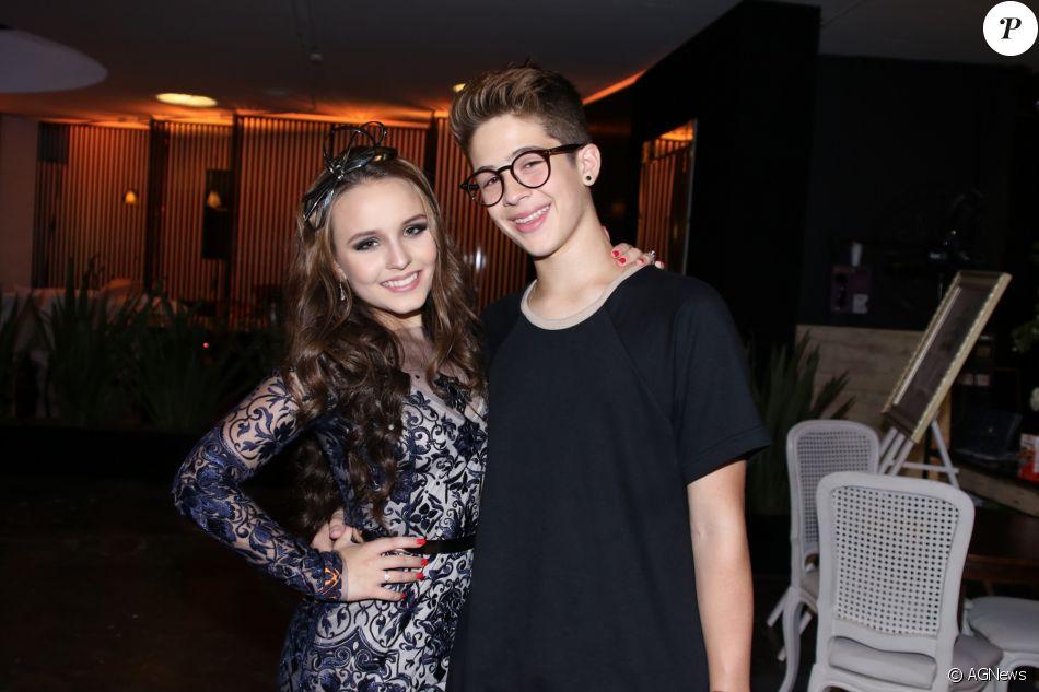 Larissa Manoela e João Guilherme Ávila termiram o namoro em dezembro do ano  passado 377b0dcd82