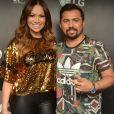 Solange Almeida negou desavenças com o antigo parceiro de palco: 'Xand é meu compadre e mora no meu coração'