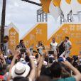 O cantor reuniu uma multidão em Miami para a gravação de seu quinto DVD