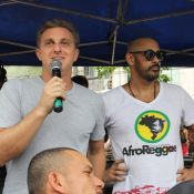 'Luciano Huck quer se candidatar a Presidente', afirma líder do AfroReggae