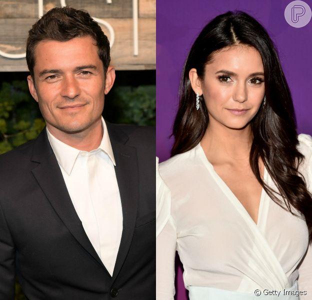 Orlando Bloom engatou um affair com Nina Dobrev, da série 'The Vampire Diaries', após o término com Katy Perry