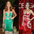 Marina Ruy Barbosa já havia usado o mesmo Dolce & Gabbana de Débora Nascimento
