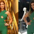 Marina Ruy Barbosa e Vivian, ex-'BBB17', usaram o mesmo macacão de R$ 1.500 em diferentes ocasiões