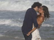 Isis Valverde beija Fiuk em gravação de 'A Força do Querer' na praia. Fotos!
