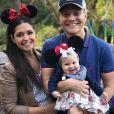 Michel Teló e Thais Fersoza estão à espera do segundo filho