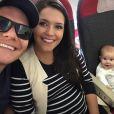 'Nem é tão parecida com o pai, né?!', brincou Michel Teló sobre Melinda em seu Instagram