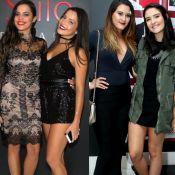 Ex-BBBs Emilly e Mayla mantêm contato com gêmeas de Fátima e Bonner: 'WhatsApp'