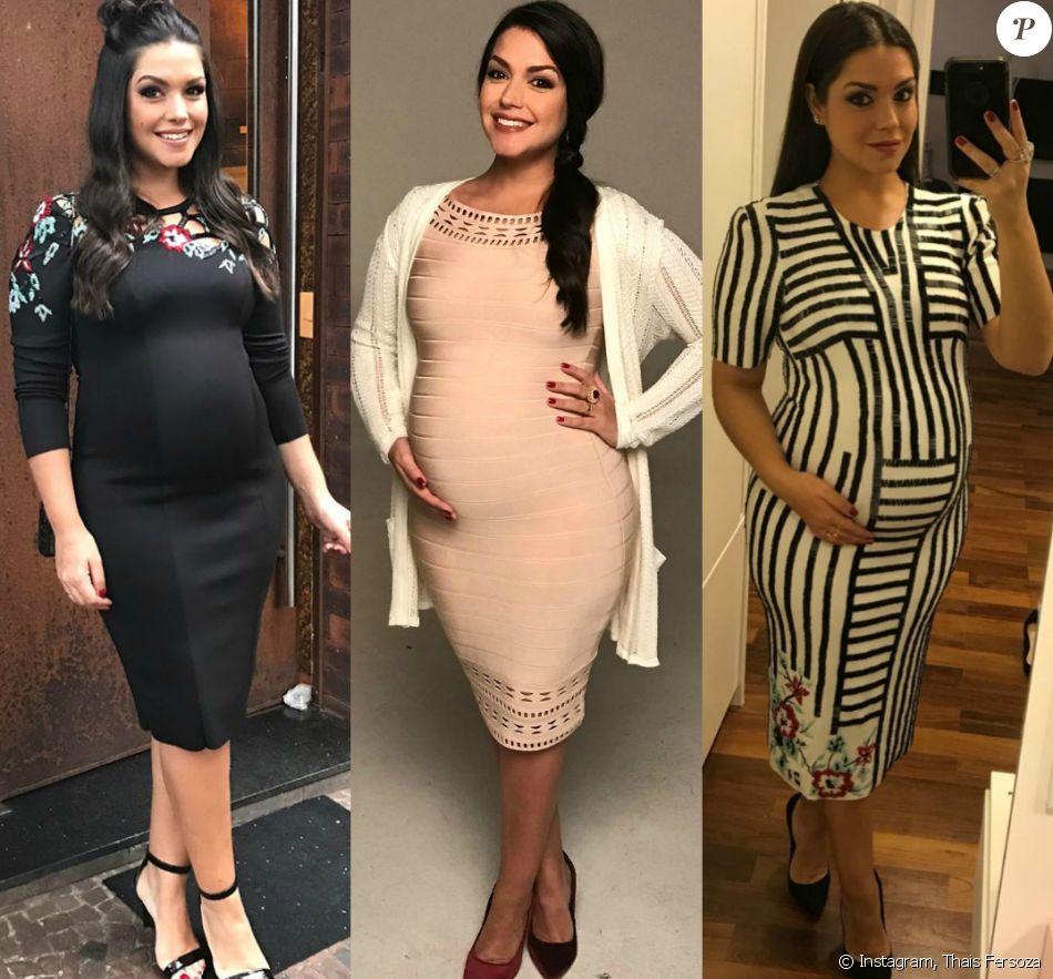 06c84016b5af Thais Fersoza fala sobre mudança nos looks após gravidez: 'Quase não ...