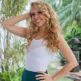 'Não estou namorando, estamos nos conhecendo', contou Joelma em entrevista a Leo Dias no 'Fofocalizando'