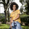 Heslaine Vieira é a hacker e moradora da periferia Ellen, em 'Malhação - Viva a Diferença'