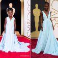 Lupita Nyong'o ganha versão mirim do look que usou no Oscar 2014