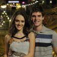 Em 'Cheias de Charme', em 2012, Jonatas Faro viveu Conrado, par romântico de Maria Aparecida, papel de Isabelle Drummond na novela