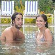 Namorada do empresário Diego Moregola, Bruna Hamú está na reta final da gravidez