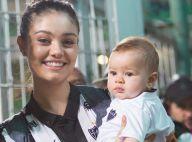 Sophie Charlotte usa roupas de seu irmão no filho, Otto: 'Minha mãe guardou'