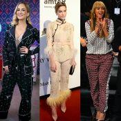 Pijama fashion é tendência em famosas brasileiras e internacionais. Veja looks!