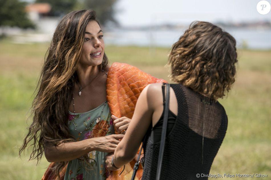 Ritinha (Isis Valverde) Cibele (Bruna Linzmeyer) na novela 'A Força do Querer'
