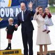Além da princesa Charlotte, Kate Middleton e príncipe William são pais de George, de 3 anos