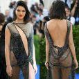Kendall Jenner apostou em look ousado para o MET Gala, em Nova York, na última segunda-feira, 1 de maio de 2017