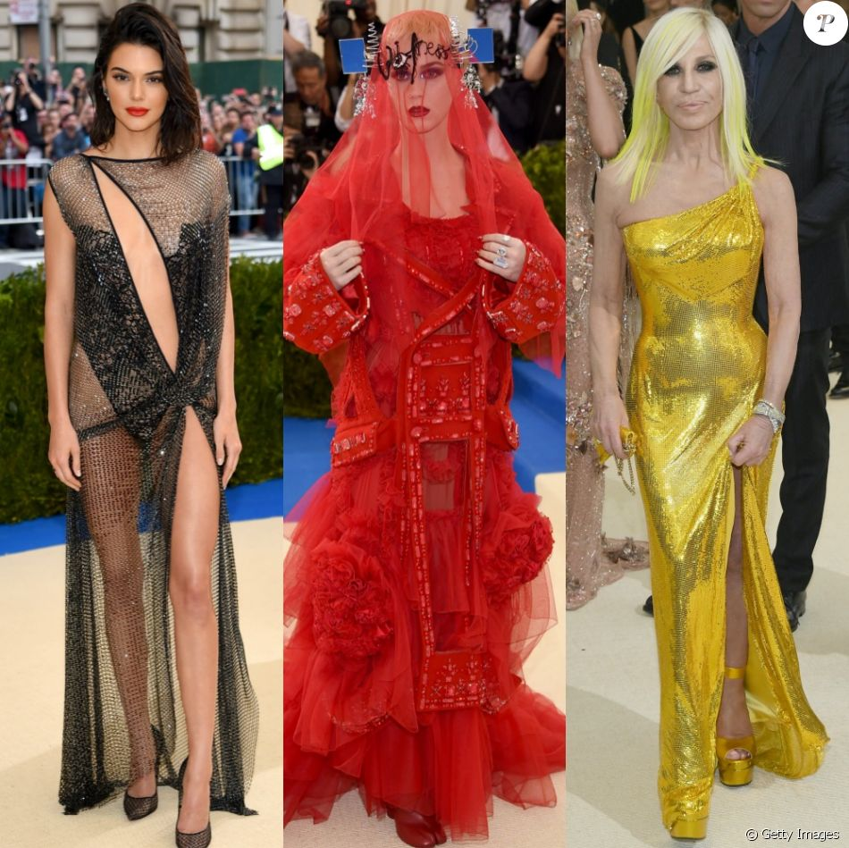 Kendall Jenner, Katy Perry, Donatella Versace e mais! Veja os looks das famosas no MET Gala 2017