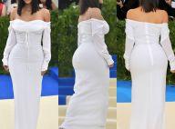 Kim Kardashian, sem joias, aposta em vestido simples no MET Gala. Relembre looks
