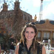 Monique Alfradique, Luigi Baricelli e outros famosos curtem parque da Disney