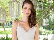 Júlia dispensa véu e grinalda em vestido de casamento com Gui em 'Rock Story'