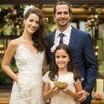 Chiara (Lara Cariello), filha de Gui (Vladimir Brichta) e Diana (Alinne Moraes), será dama de honra do casamento do pai com Júlia (Nathalia Dill) em 'Rock Story'