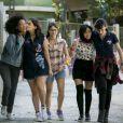Keyla (Gabriela Medvedovski), Tina (Ana Hikari), Ellen (Heslaine Vieira), Benê (Daphne Bozaski) e Lica (Manoela Aliperti) são as protagonistas de 'Malhação - Viva a Diferença'