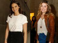 Bruna Marquezine e Sasha são tietadas por brasileira em Nova York: 'No trem'