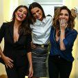 Sexy! Juliana Paes e Giovanna Antonelli usam looks com lingerie à mostra nesta quinta-feira, dia 04 de maio de 2017