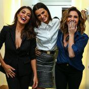 Sexy! Juliana Paes e Giovanna Antonelli usam looks com lingerie à mostra. Fotos!