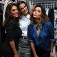 Juliana Paes, Giovanna Antonelli e Fernanda Motta posam em loja da marca Dudalina