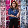 Giovanna Antonelli, por sua vez, escolheu um look descolado, com blusa jeans e bota preta
