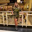 Andressa Suita brincou ao ver seus pés após o evento: 'De dinossauro'