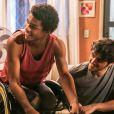 Antes de 'Malhação - Viva a Diferença', Juan Paiva participou da novela 'Totalmente Demais' como o estudante Wesley, que ficou deficiente ao sofrer um acidente