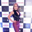 Gabriela Spanic, vilã de 'A Usurpadora', na pré-estreia do filme 'Amor.com' no shopping JK Iguatemi, em São Paulo, na noite desta segunda-feira, 8 de maio de 2017