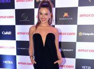 Isis Valverde usa vestido decotado de R$ 8 mil em pré-estreia de filme. Fotos!