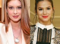 Marina Ruy Barbosa diz que já dividiu crush com Bruna Marquezine: 'No colégio'