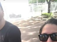 Thais Fersoza passeia com Michel Teló e filha, Melinda: 'Momentos raros'. Vídeo!