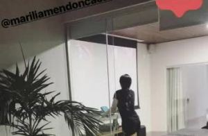 Maraísa, dupla de Maiara, malha ao som de sertanejo após lipo: 'Animação'
