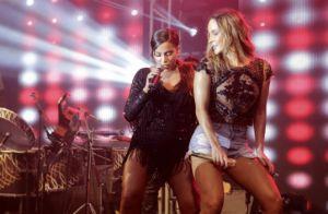 Claudia Leitte nega ter criticado Anitta por parcerias musicais: 'Adoro'. Vídeo!