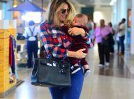 Rafa Brites perde 18 kg após gestação de Rocco: 'Evito o que dá cólica no bebê'