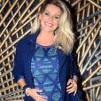 'Estou tranquila, com a prioridade de curtir minha gestação', afirmou Karina Bacchi