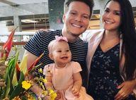 Michel Teló homenageia Thais Fersoza em seu primeiro Dia das Mães: 'Tanto amor'