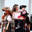 Luciana Gimenez comemora o aniversário de 3 anos de seu filho caçula, Lorenzo Gabriel, fruto de seu casamento com o empresário Marcelo de Carvalho, em São Paulo