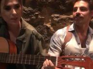 Cauã Reymond canta 'Palpite' com Tatá Werneck em bastidor de filme. Vídeo!